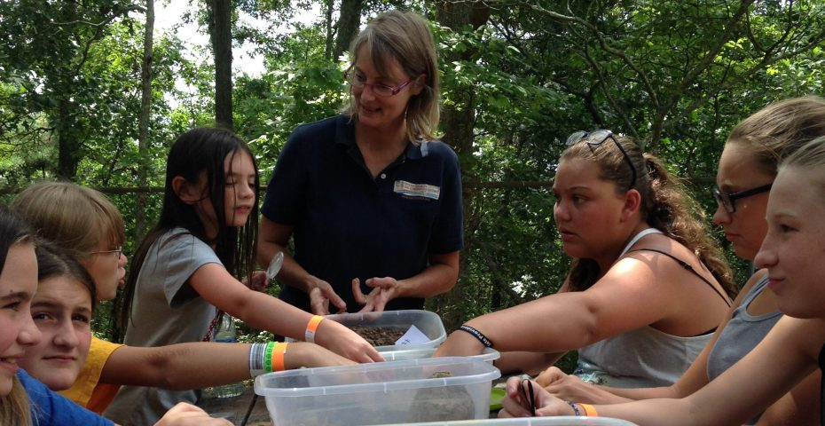 BBP YMCA Summer Campers 2016 Soil Exploration