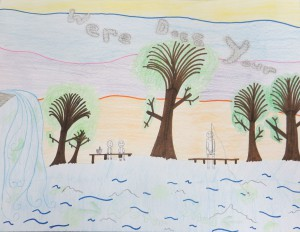 """Where Does Your Water Shed"" 2nd Place, Grades 4-6. Michelle Zoltan of Lake Riviera Middle School"