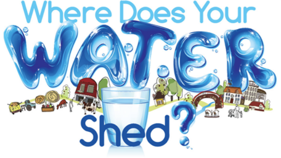 "The 2013 Poster Contest has been announced and the theme is ""where does your water shed"""