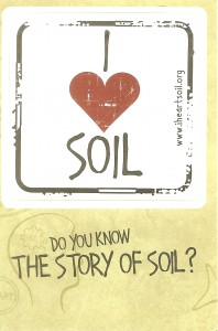 It's easy to take soil for granted, yet it's one of the most importnat resources we have.  Find out more at www.iheartsoil.org